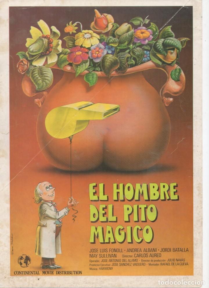 EL HOMBRE DEL PITO MÁGICO (Cine - Guías Publicitarias de Películas )