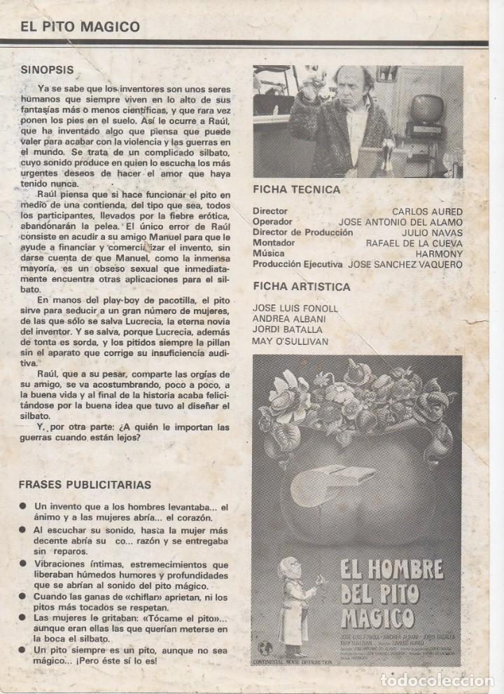 Cine: EL HOMBRE DEL PITO MÁGICO - Foto 2 - 207163072