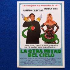Cine: GUIA: LA OTRA MITAD DEL CIELO. CON: FRANCO ROSSI ADRIANO CELENTANO MONICA VITTI, VELANTINO VENANTINI. Lote 207163873