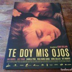 Cine: TE DOY MIS OJOS - LAIA MARULL, LUIS TOSAR,CANDELA PEÑA, DIR. ICIAR BOLLAIN - GUIA ORIGINAL ALTA 2003. Lote 207228277