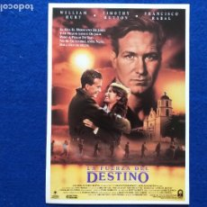 Cine: GUIA: LA FUERZA DEL DESTINO. A TIME OF DESTINY.GREGORY NAVA, WILLIAM HURT, TIMOTHY HUTTON,PACO RABAL. Lote 207249946