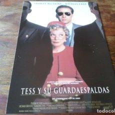 Cine: TESS Y SU GUARDAESPALDAS - SHIRLEY MACLAINE, NICOLAS CAGE - GUIA ORIGINAL COLUMBIA AÑO 1994. Lote 207320858