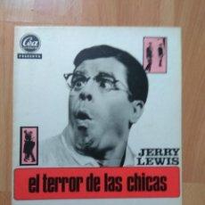 Cine: G-6--GUIA DE LA PELICULA--- EL TERROR DE LAS CHICAS. Lote 207414541