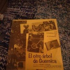 Cine: EL OTRO ARBOL DE GUERNICA - INMA DE SANTIS. Lote 207432347