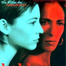 Cine: HABLE CON ELLA (GUÍA ORIGINAL SIMPLE DE SU ESTRENO EN ESPAÑA) PEDRO ALMODOVAR.. Lote 210020721