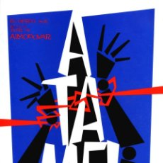 Cine: ÁTAME (GUÍA ORIGINAL DE LUJO CON FOTOS 36 PÁGINAS ESTRENO EN ESPAÑA) PEDRO ALMODOVAR.. Lote 210022046