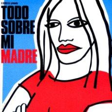 Cine: TODO SOBRE MI MADRE (GUÍA ORIGINAL DE LUJO 52 PÁGINAS ESTRENO EN ESPAÑA) PEDRO ALMODOVAR.. Lote 210022370