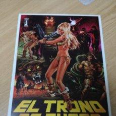 Cine: EL TRONO DE FUEGO-FRANCO PROSPERI-SABRINA SIANI-PETER MCCOY-HARRISON MULLER-. Lote 210223535