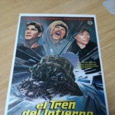 Cine: EL TREN DEL INFIERNO (GUÍA ORIGINAL. Lote 210224500