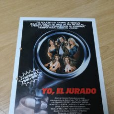 Cine: YO, EL JURADO. Lote 210225796