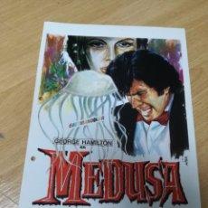 Cine: MEDUSA CON GEORGE HAMILTON Y LUCIANA PALUZZI. Lote 210226336
