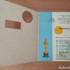 Cine: LISTA DE MATERIAL C.B FILMS 1980-81. Lote 210312977