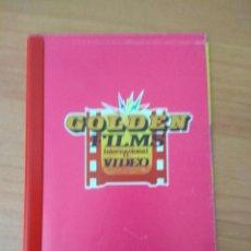 Cine: LISTA DE MATERIAL CATALOGO GOLDEN FILMS. Lote 210316936