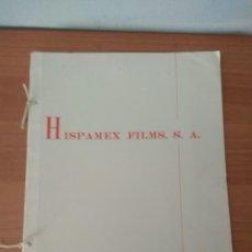 Cine: LISTA DE MATERIAL HISPAMEX 1964. Lote 210317376