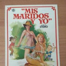 Cine: SEX--GUIA DE LA PELICULA--- MIS MARIDOS Y YO. Lote 210472566