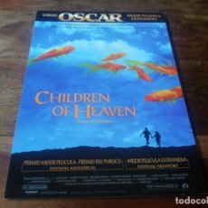 Cine: CHILDREN OF HEAVEN - AMIR FARROKH HASHEMIAN - DIR. MAJID MAJIDI - GUIA ORIGINAL LAUREN AÑO 1997. Lote 210472781