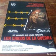 Cine: LOS CHICOS DE LA GUERRA - HECTOR ALTERIO, CARLOS CARELLA - GUIA ORIGINAL GIRO FILMS AÑO 1984. Lote 210472983