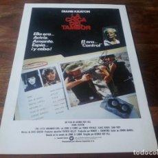 Cine: LA CHICA DEL TAMBOR - DIANE KEATON, KLAUS KINSKI, SAMI FREI - GUIA ORIGINAL WARNER AÑO 1985. Lote 210473907