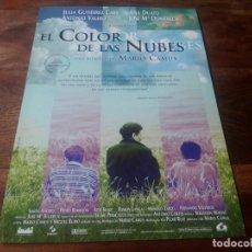 Cine: EL COLOR DE LAS NUBES - ANA DUATO, ANTONIO VALERO - DIR.MARIO CAMUS - GUIA ORIGINAL LAUREN AÑO 1997. Lote 210475165