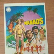 Cine: G-6--GUIA DE LA PELICULA--- MANAOS. Lote 210475167
