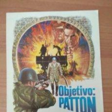 Cine: G-6--GUIA DE LA PELICULA--- OBJETIVO PATTON. Lote 210475365