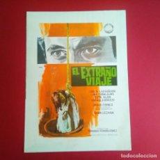 Cine: GUIA DE CINE - EL EXTRAÑO VIAJE 1964 - FERNANDO FERNAN GOMEZ(4 HOJAS)- (EXCELENTE ESTADO (L1). Lote 210652110