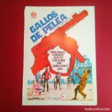 Cine: GUIA DE CINE - GALLOS DE PELEA 1969- SIMON ANDREU - (EXCELENTE ESTADO (L1). Lote 210652526