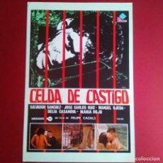 Cine: GUIA DE CINE - CELDA DE CASTIGO 1976 - (EXCELENTE CONSERVACION)- (L1). Lote 210653461