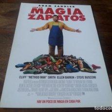 Cine: CON LA MAGIA EN LOS ZAPATOS - ADAM SANDLER, ELLEN BARKIN,STEVE BUSCEMI - GUIA ORIGINAL EONE AÑO 2014. Lote 210958351