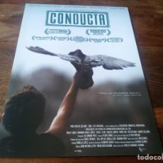 Cine: CONDUCTA - ARMANDO VALDES, ALINA RODRIGUEZ, SILVIA AGUILA - GUIA ORIGINAL DREAMS AÑO 2014. Lote 210961405