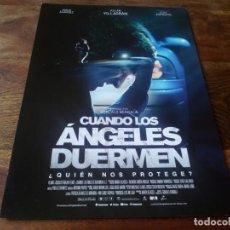 Cine: CUANDO LOS ANGELES DUERMEN - MARIAN ALVAREZ, JULIAN VILLAGRAN - GUIA ORIGINAL FILMAX AÑO 2018. Lote 210961624