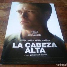Cine: LA CABEZA ALTA - ROD PARADOT, CATHERINE DENEUVE, SARA FORESTIER - GUIA ORIGINAL VERTIGO AÑO 2015. Lote 210961945