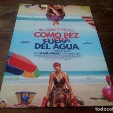 Cine: COMO PEZ FUERA DEL AGUA - ANTONIO ALBANESE, PAOLA CORTELLESI - GUIA ORIGINAL CARAMEL AÑO 2019. Lote 210962190