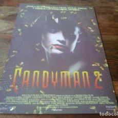 Cine: CANDYMAN 2 - TONY TODD, KELLY ROWAN, BILL NUNN, WILLIAM O´LEARY - GUIA ORIGINAL SOGEPAQ AÑO 1995. Lote 210962601