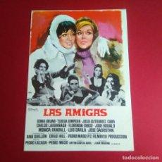Cine: GUIA DE CINE - LAS AMIGAS 1969 - SONIA BRUNO, TERESA GIMPERA 4 PAGINAS - EXCELENTE CONSERVACION- VER. Lote 210964475