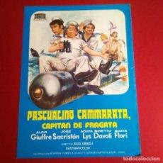 Cine: GUIA DE CINE - PASCUALINO CAMMARATA,CAPITAN DE FRAGATA 1974. Lote 210964657
