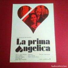 Cine: GUIA DE CINE -LA PRIMA ANGELICA / CARLOS SAURA / JOSE L LOPEZ VA -4 PAGINAS -BUENA CONSERVACION- L1. Lote 211499912