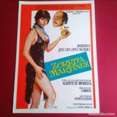 Cine: GUIA DE CINE -ZORRITA MARTINEZ - NADIUSKA-JLL VAZQUEZ- 4 PAGINAS -BUENA CONSERVACION- L1. Lote 211500645