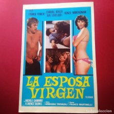 Cine: GUIA DE CINE - LA ESPOSA VIRGEN 1975 - EWIGE FENECH, CARROLL BAKER-4 PAGINAS - EXCELENTE - L2. Lote 211505960