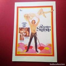 Cine: GUIA DE CINE -MI EROTICO SIGFRIDO 1971 -RAIMUND HARMSTORF, SYBIL DANNING-4 PAGINAS -EXCELENTE - L2. Lote 211506795