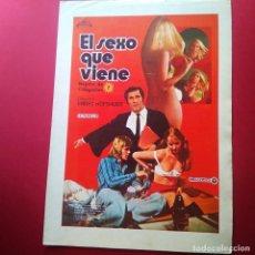 Cine: GUIA DE CINE -EL SEXO QUE VIENE-ERNST HOFBAUER- 4 PAGINAS -EXCELENTE - L2. Lote 211507310