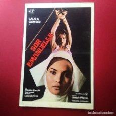 Cine: GUIA DE CINE -SOR ENMANUELLE- LAURA GEMSER - 4 PAGINAS -EXCELENTE - L2. Lote 211507456