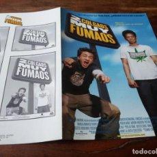 Cine: 2 COLGAOS MUY FUMAOS - KAL PENN, JOHN CHO, NEIL PATRICK HARRIS - GUIA ORIGINAL AURUM AÑO 2004. Lote 211509089