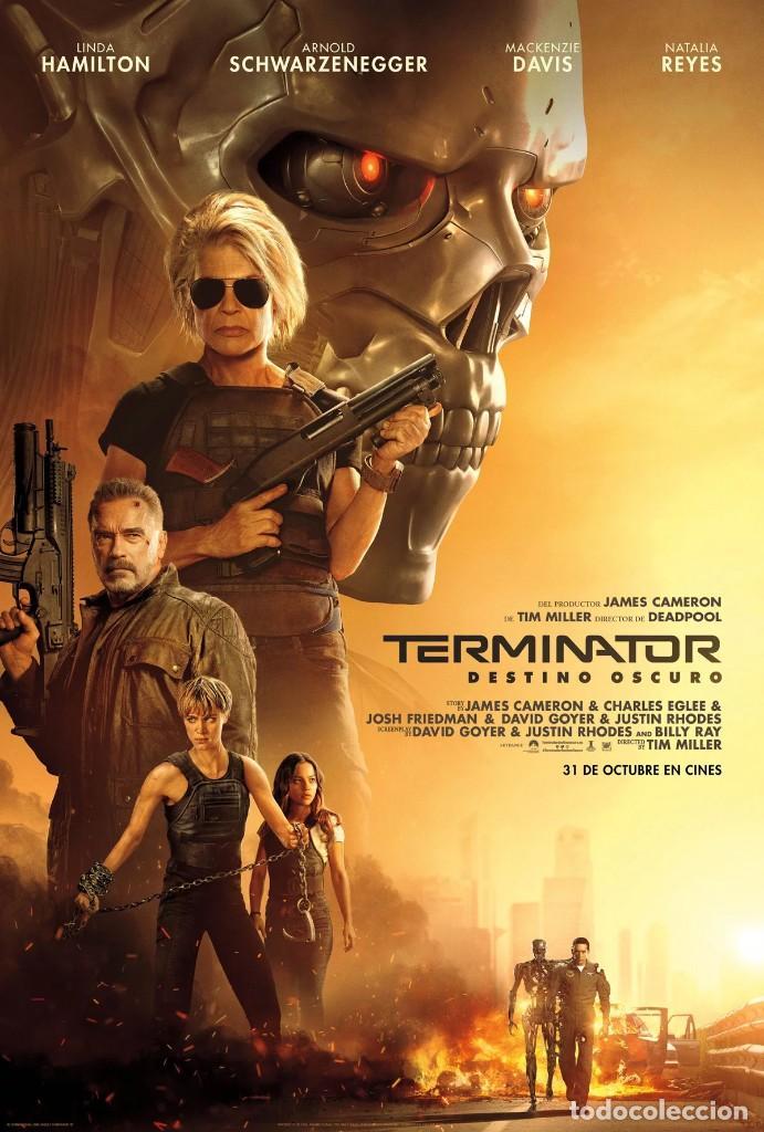 TERMINATOR DESTINO OSCURO (Cine - Guías Publicitarias de Películas )