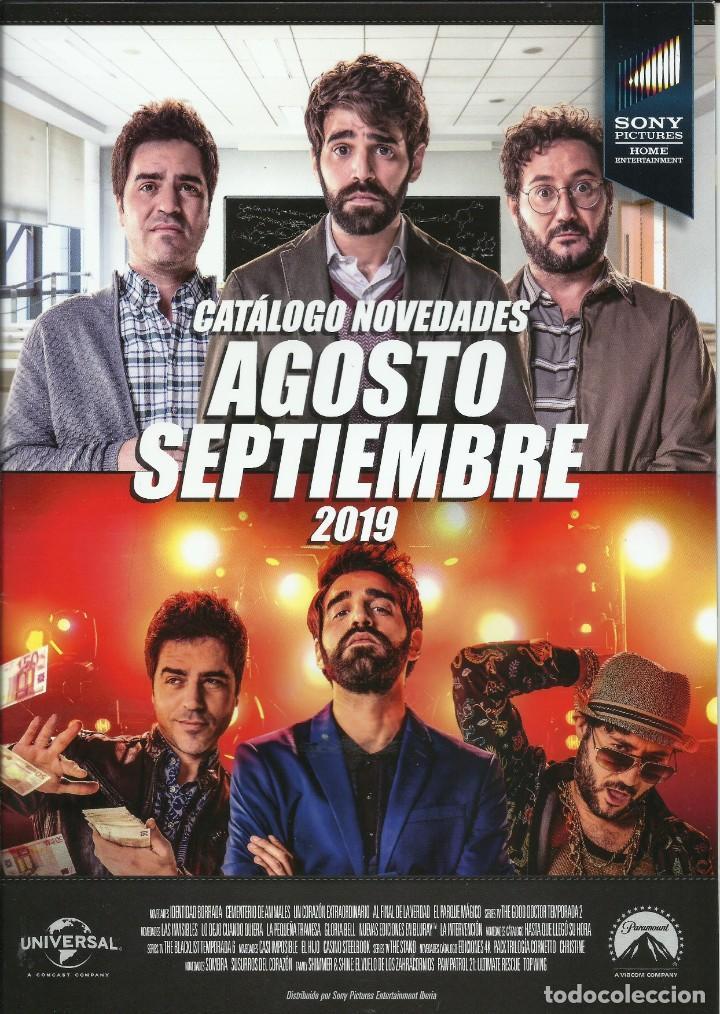 CATÁLOGO NOVEDADES SONY (Cine - Guías Publicitarias de Películas )