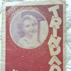 Cine: CINEMA TRINDADE (PORTO) PROGRAMA, 13 DE JUNIO DE 1933. ILUSTRADO.. Lote 211626870