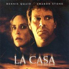 Cine: LA CASA (COLD CREEK MANOR) (GUÍA ORIGINAL DOBLE CON FOTOS DE SU ESTRENO EN ESPAÑA. Lote 212270282
