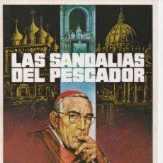 Cine: LAS SANDALIAS DEL PESCADOR. Lote 212752067
