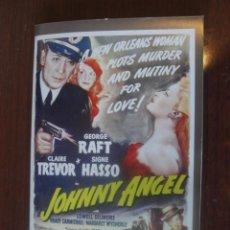 Cine: JOHNNY ANGEL / GEORGE RAFT - CLAIRE TREVOR / CUADERNO 24 PAGS CON FOTOS - ENVIO GRATIS - CAPITAN. Lote 213255707