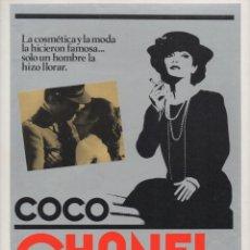 Cine: COCO CHANEL. Lote 213449012